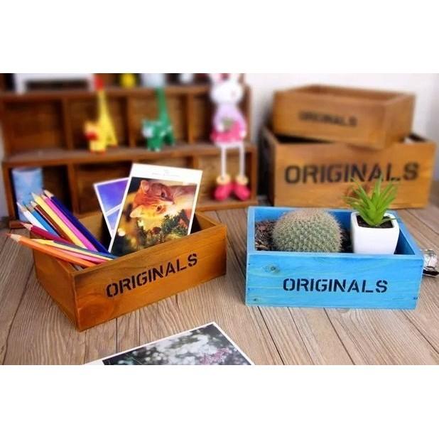 木盒木櫃置物籃收納木盒收納盒置物盒收納木盒木盒收納櫃展示櫃雜物盒裝潢擺飾~BCQ 11 ~