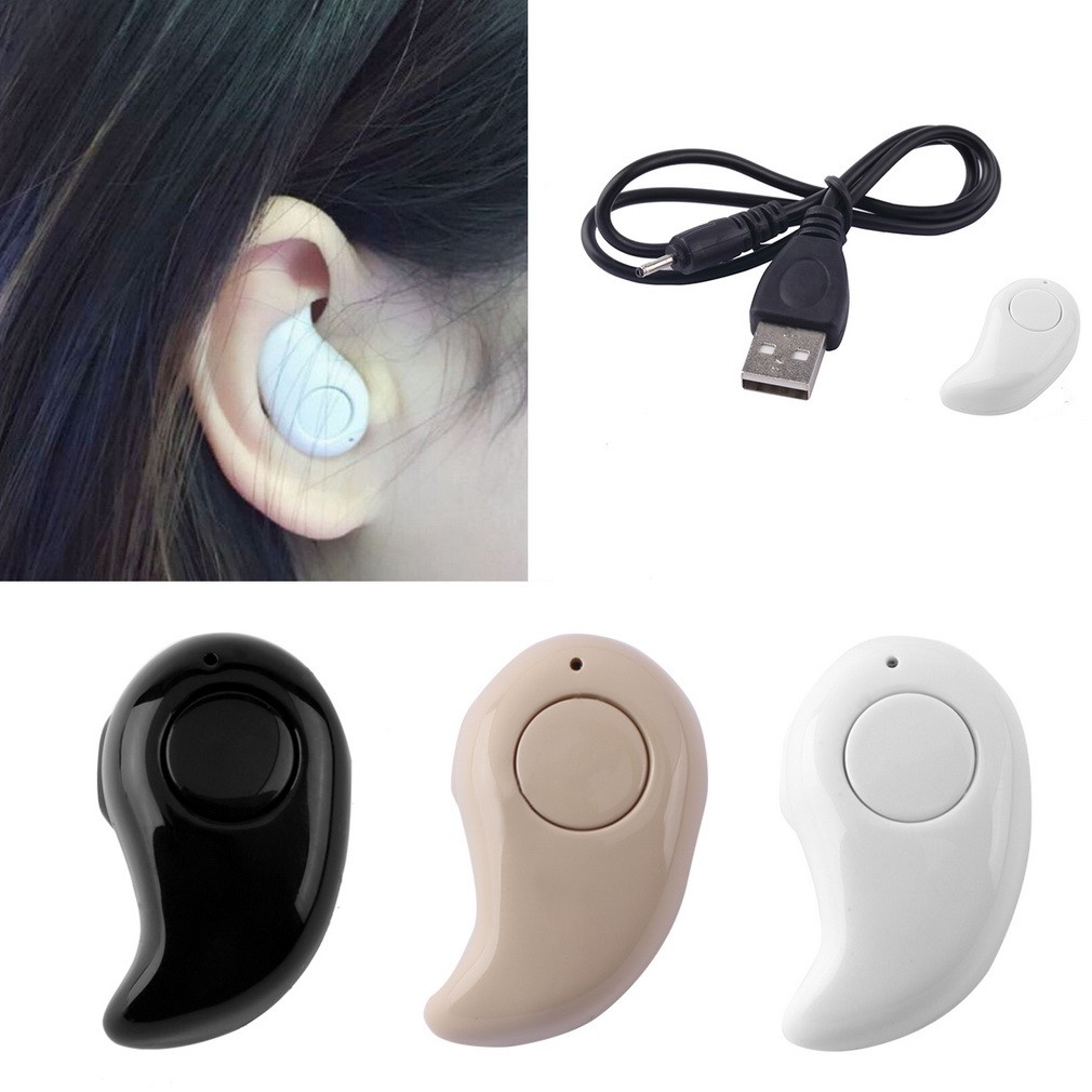 ~ ~S530 4 1 隱形藍牙耳機迷你耳機水滴耳機迷你無線入耳式藍牙耳機單只
