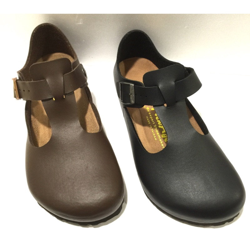 女段NEW AGE 外銷 全包側空勃肯涼鞋