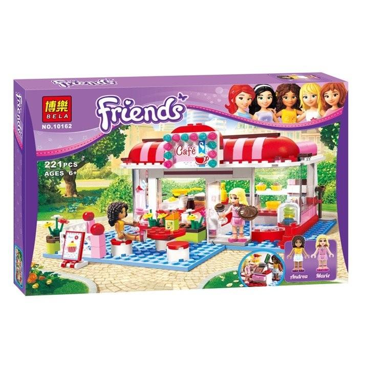~小喬兒~一館~~ ~~博樂牌10162 ~女孩們城市公園咖啡廳樂高積木玩具