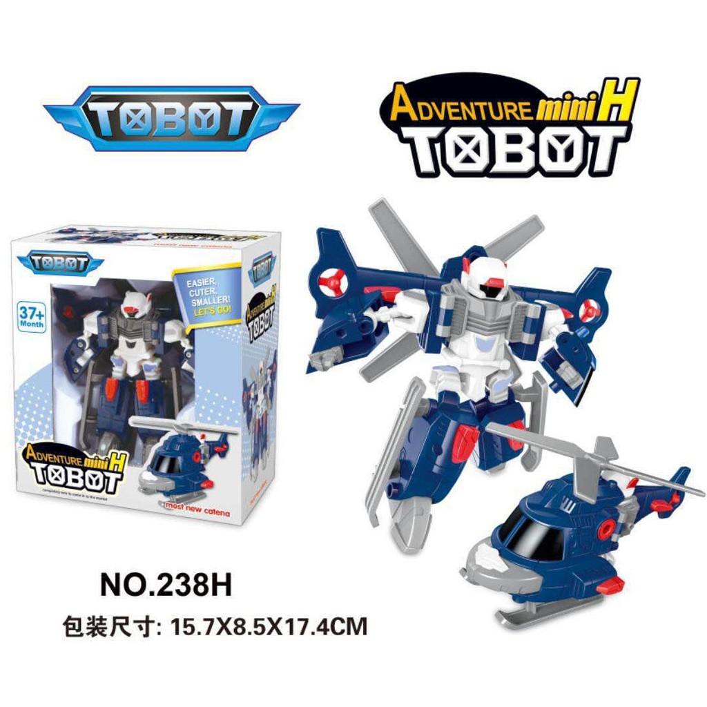 ~新到貨~Tobot 冒險H 直升機C D H K R W X Y Z ZERO 變形機器