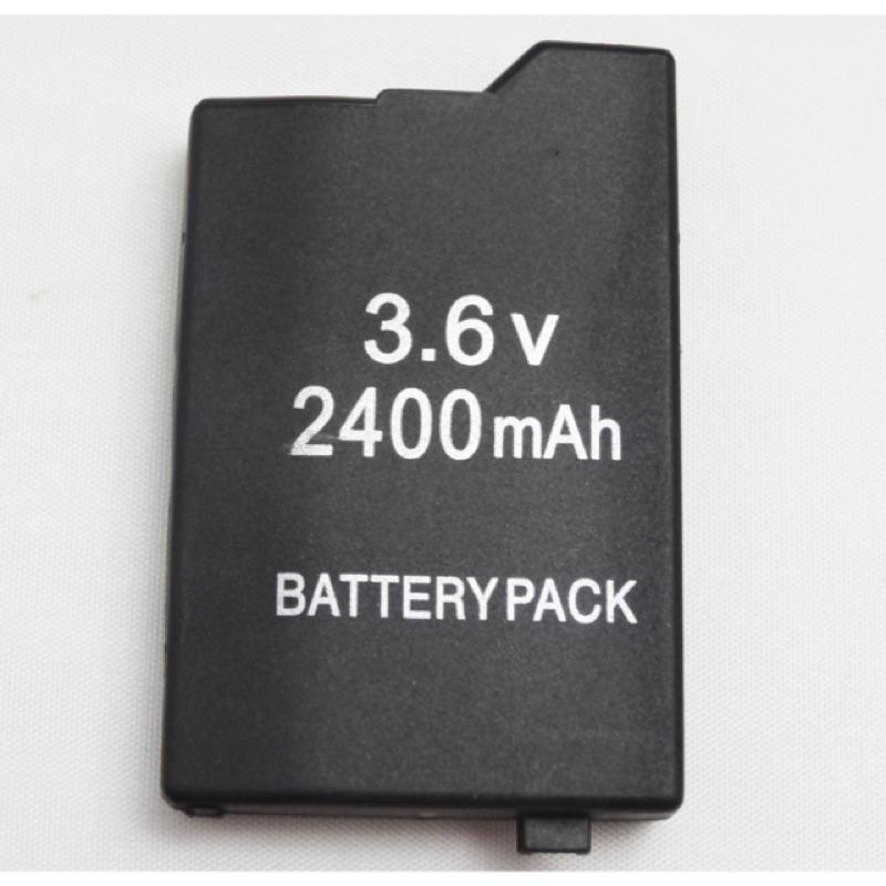 PSP 2000 3000 型電池副廠2400 毫安2400mAh 2000 2007 3