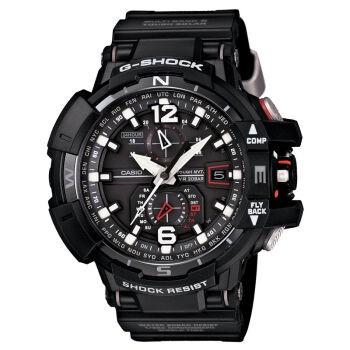國外 CASIO G SHOCK GW A1100 1A 飛行表雙顯 防水手錶腕錶電子錶男