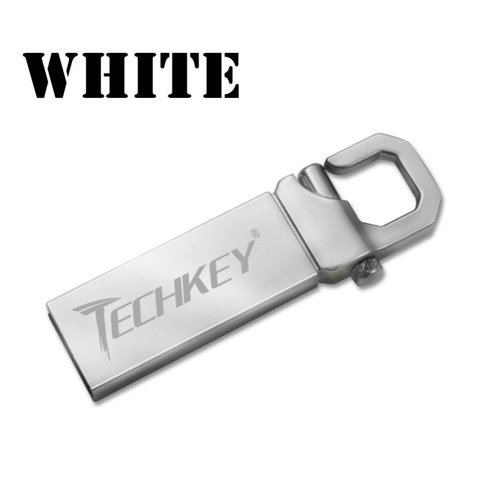 USB 閃存驅動 隨身碟防水USB2 0 外部存儲設備pendrive32GB 金屬 記憶