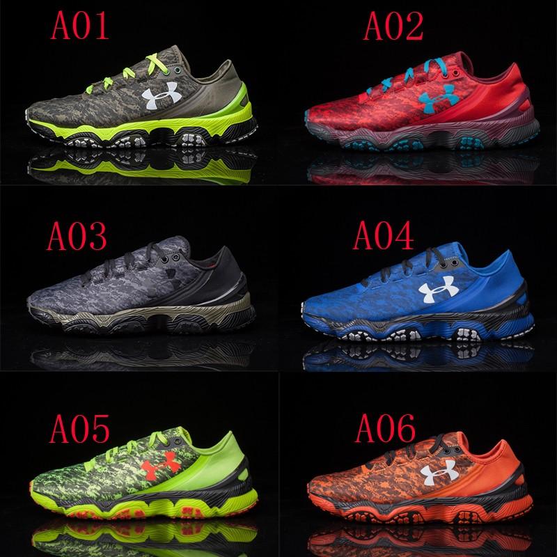 正品 Under Armour 跑步鞋男子UA Speedform XC 越野跑鞋超輕訓練
