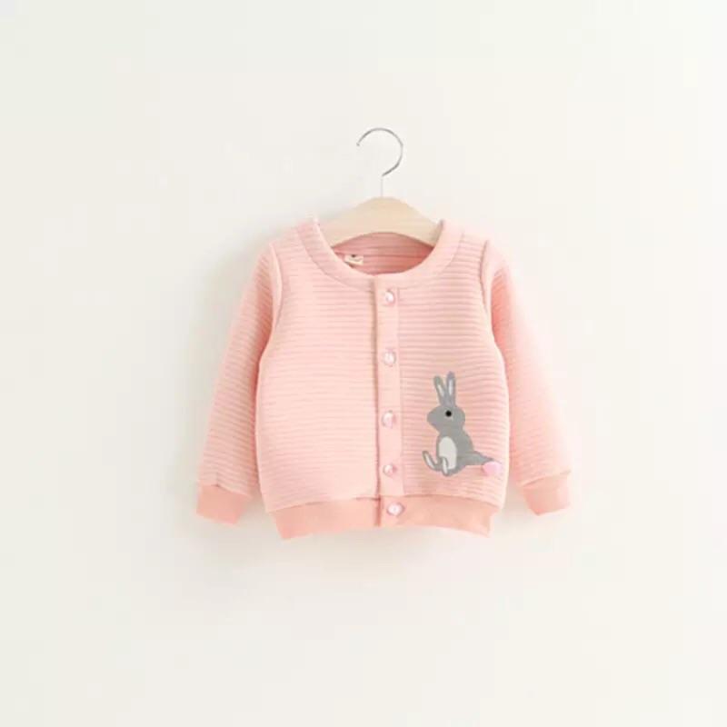 x1 秋裝新品女 兔子純棉保暖外套