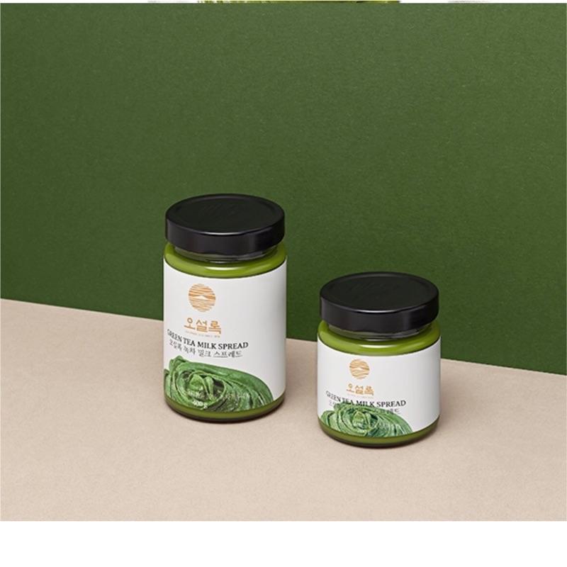 JL 韓國 O SULLOC 超濃抹茶牛奶醬200g 400g 抹茶醬osulloc 韓國