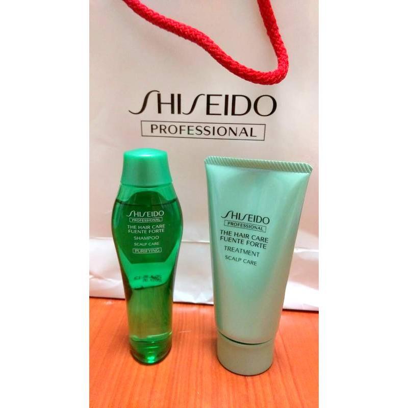 資生堂旅行組芳泉調理極淨洗髮精洗髮乳護髮乳50ml Shiseido