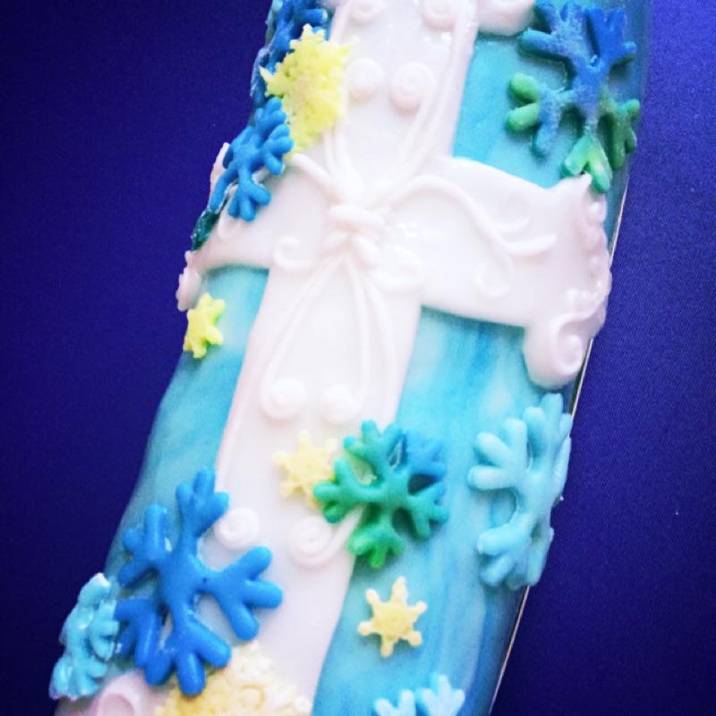 翻糖客製化長型蛋糕限冷藏運送