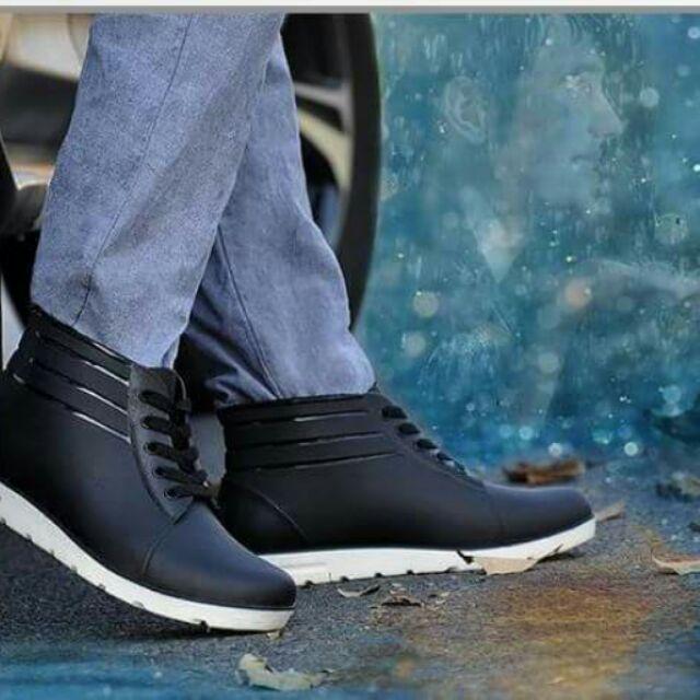 男款四季低幫 雨靴