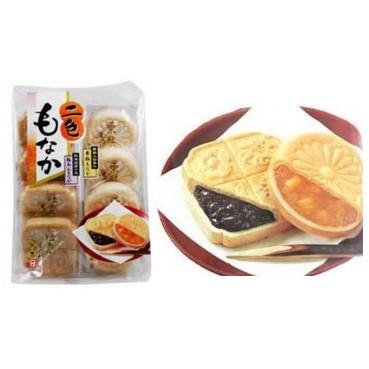 012 天惠二色最中餅紅豆栗子8 入232g 4902008320721