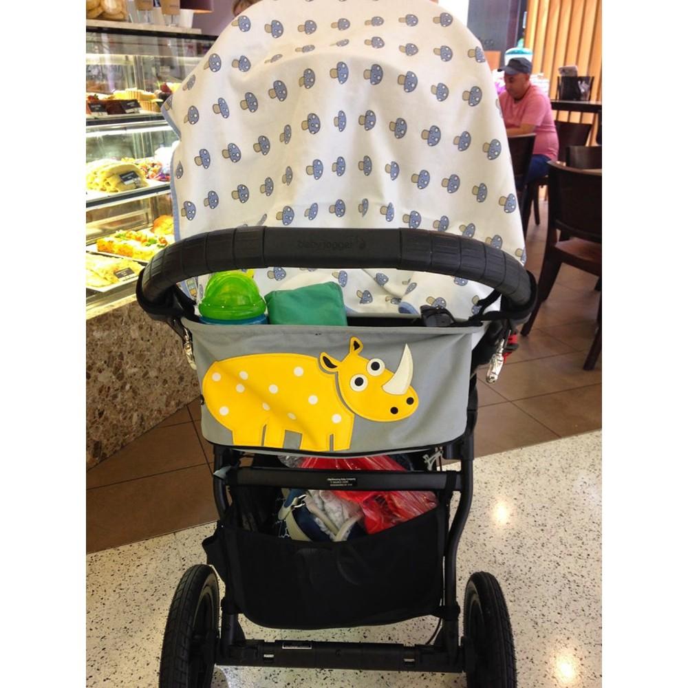 嬰兒推車防水收納掛袋置物袋嬰用品收納包媽咪包推車掛袋分格收納袋