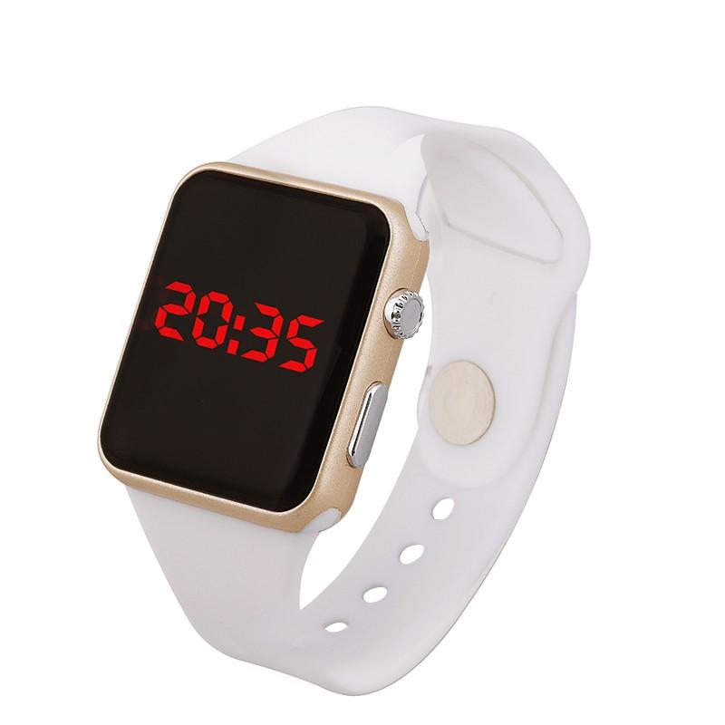 男女學生夜光 電子手錶 防水簡約LED 兒童手錶男孩女孩