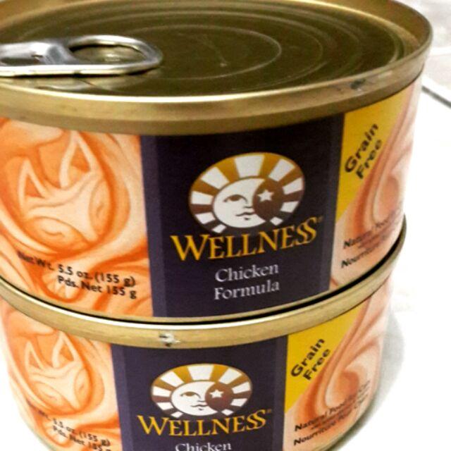 有 也可 24 罐3360 元Wellness 系列貓罐頭主食罐155g