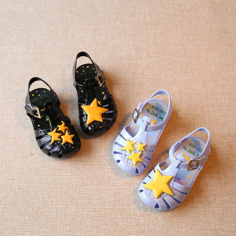 星星✨防水果凍涼鞋~有香味