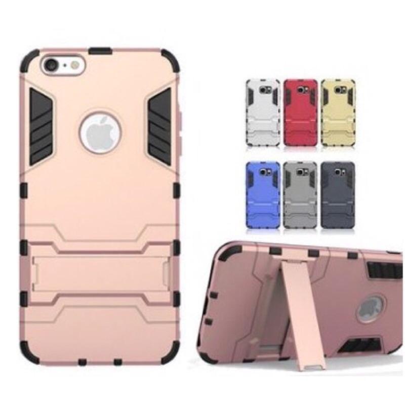 iPhone 5 5S 5SE 6 6S 6 PLUS 6S PLUS 保護鎧甲支架手機殼