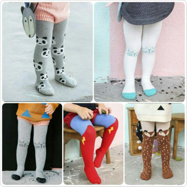 韓國 ins 兒童褲襪兒童打底褲襪子男女童褲襪寶寶褲襪寶寶襪子