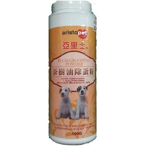 亞里士茶樹油除蚤粉100g