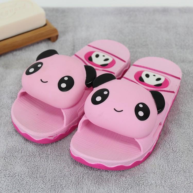 兒童拖鞋夏女童拖鞋室內防滑軟底室內寶寶可愛卡通男童涼拖鞋