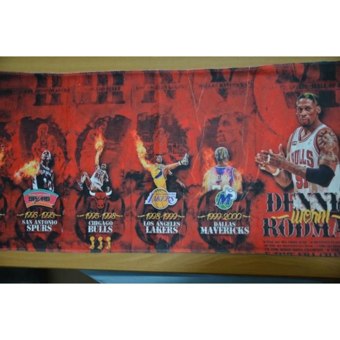 籃板之神羅德曼Rodman 全系列 販售35 75 芝加哥公牛隊毛巾灌籃高手櫻木花道原型