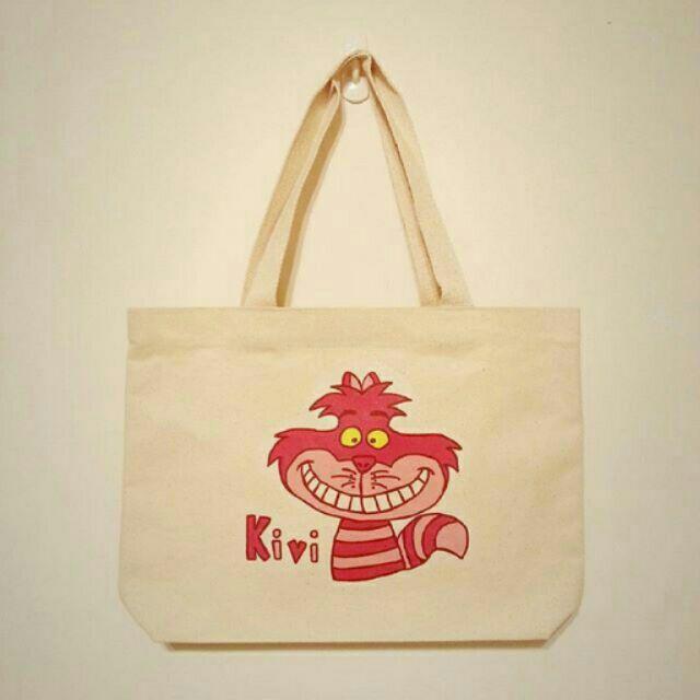 kivi 笑笑貓帆布袋