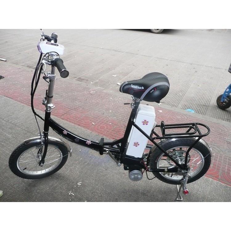 廠商直銷升級款350w 折疊電動自行車16 寸輪胎黑色款電動車電瓶車