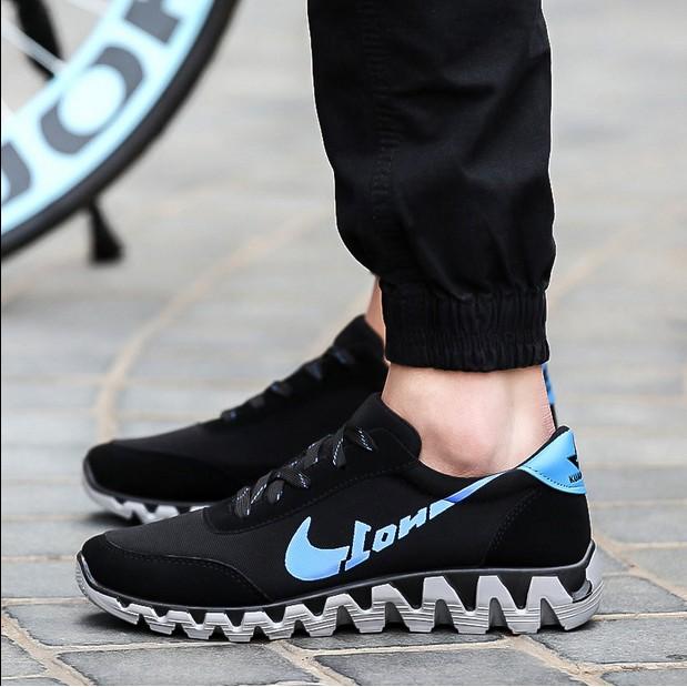 超贊男鞋春 板鞋男青少年初中高中學生 潮流 鞋厚底增高男鞋潮鞋