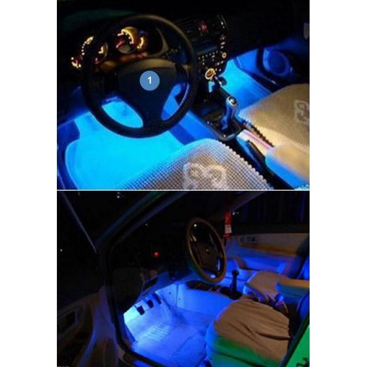 汽車氛圍燈車用LED 氣氛燈車內裝飾燈室內腳底燈7 氣氛燈