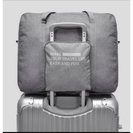 旅行袋便攜可折疊手提大容量短途出差收納包行李包男女單肩旅行包