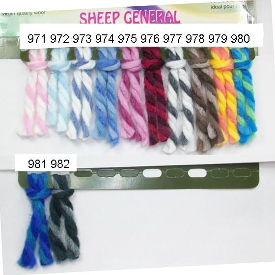 共12 色蒙娜麗莎花線100g 100m 毛線粗線雙色 藝品圍巾毛衣編織材料