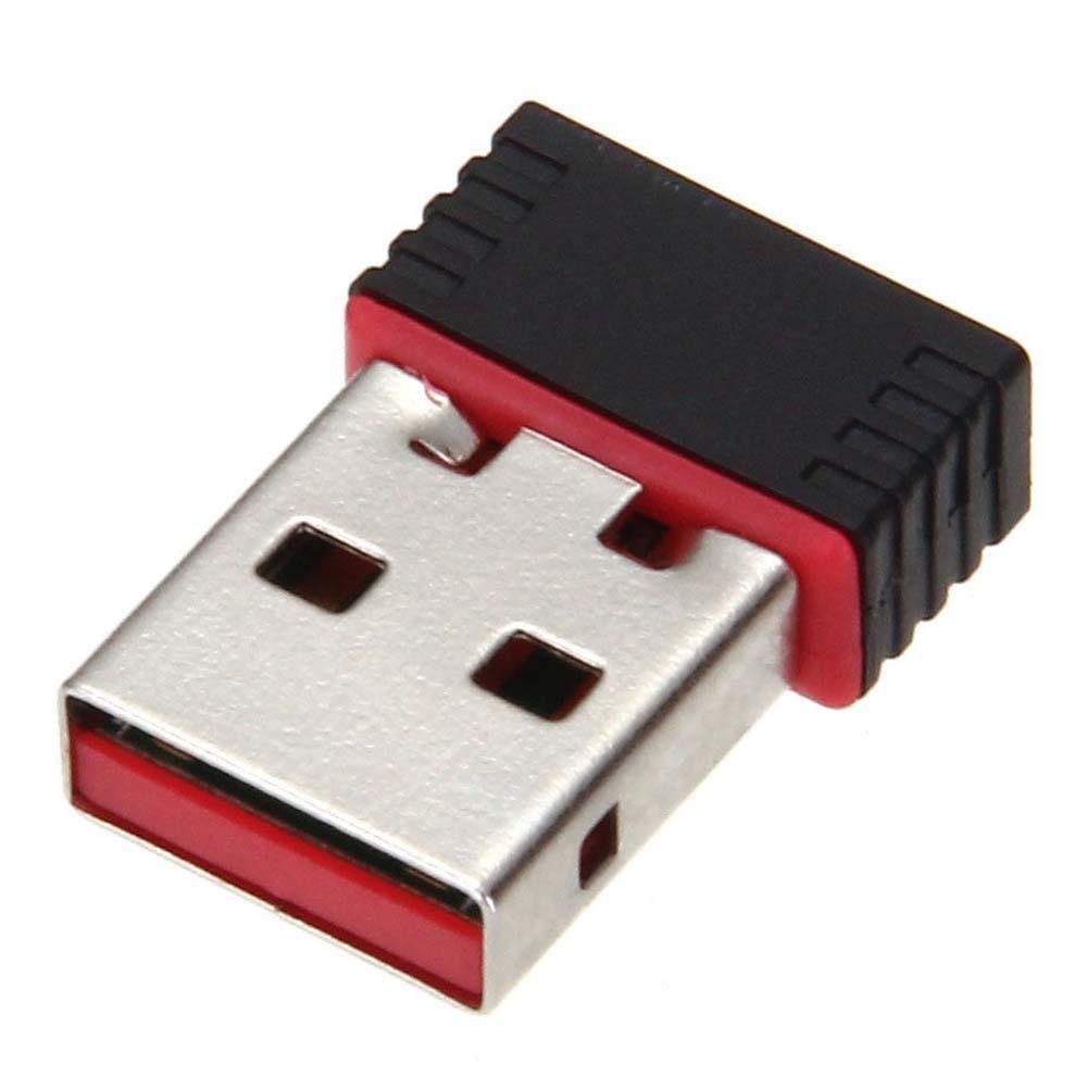 迷你USB 150Mbps 的無線WiFi 802 11B G N 網卡網卡天線