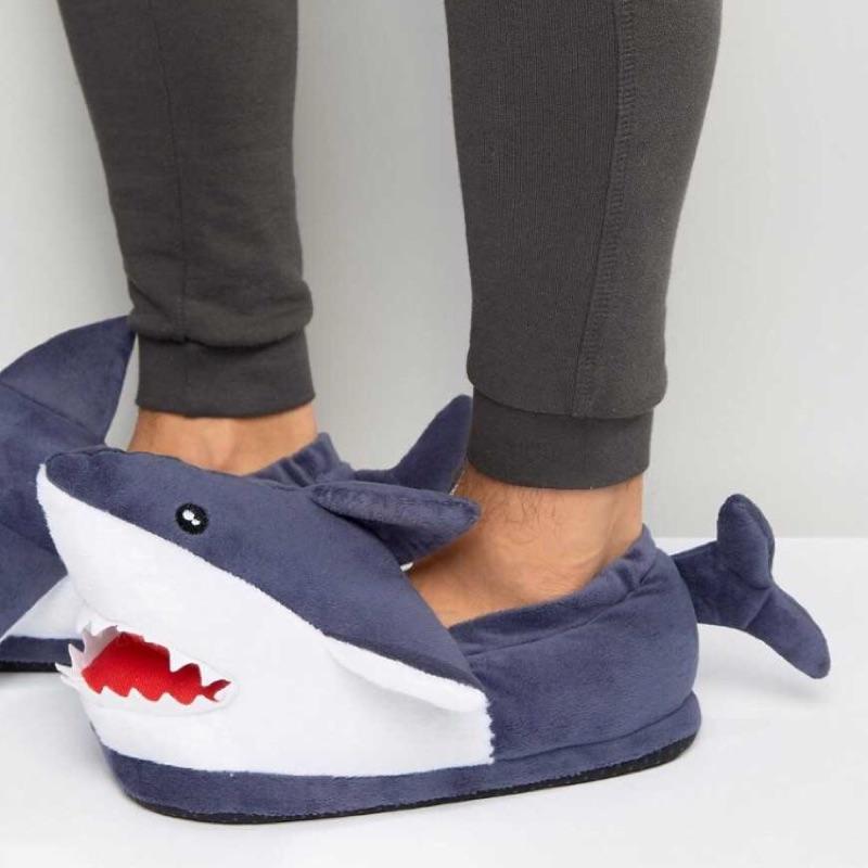 英國 萬聖節漢堡鯊魚紅鶴獨角獸野獸國怪獸聖誕節薑餅人感恩節小馬保暖室內拖鞋歐洲