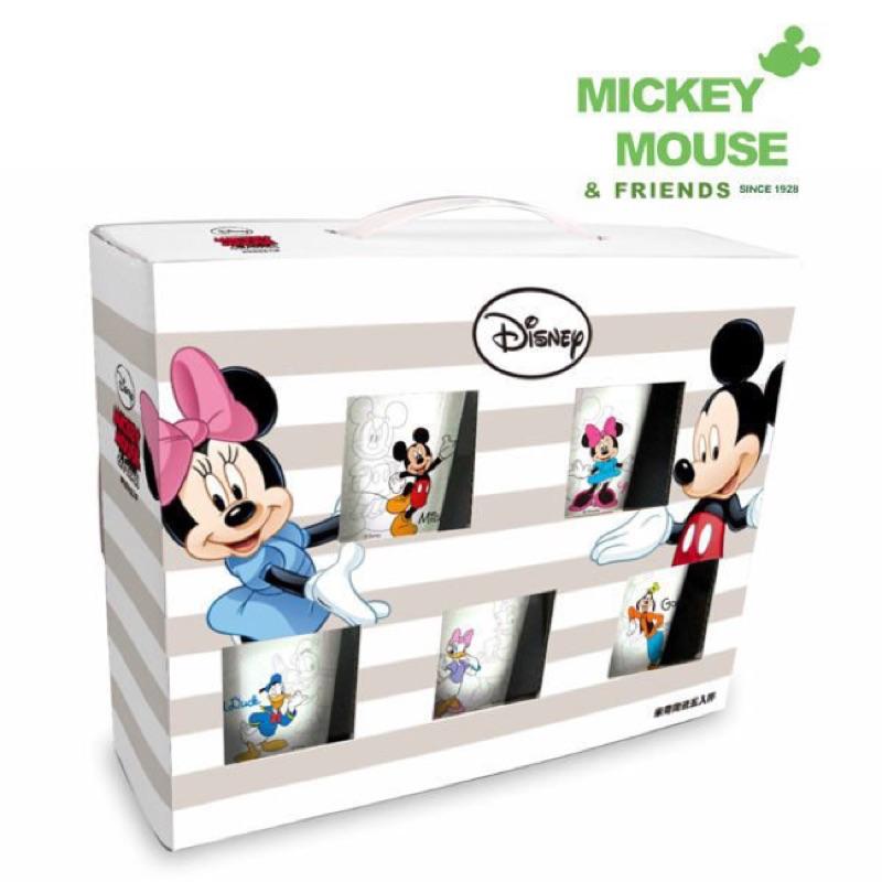 妮妮 迪士尼Disney 米奇家族五入水杯組