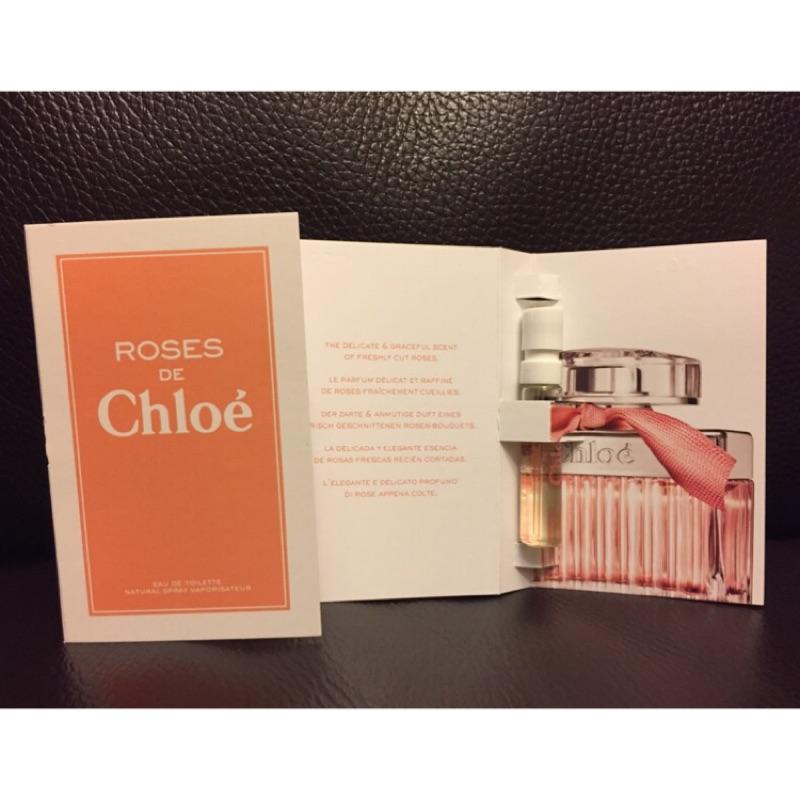 美國 Chloe 克羅埃Chloe 克羅埃ROSES 玫瑰女性淡香水針管試管1 2ML
