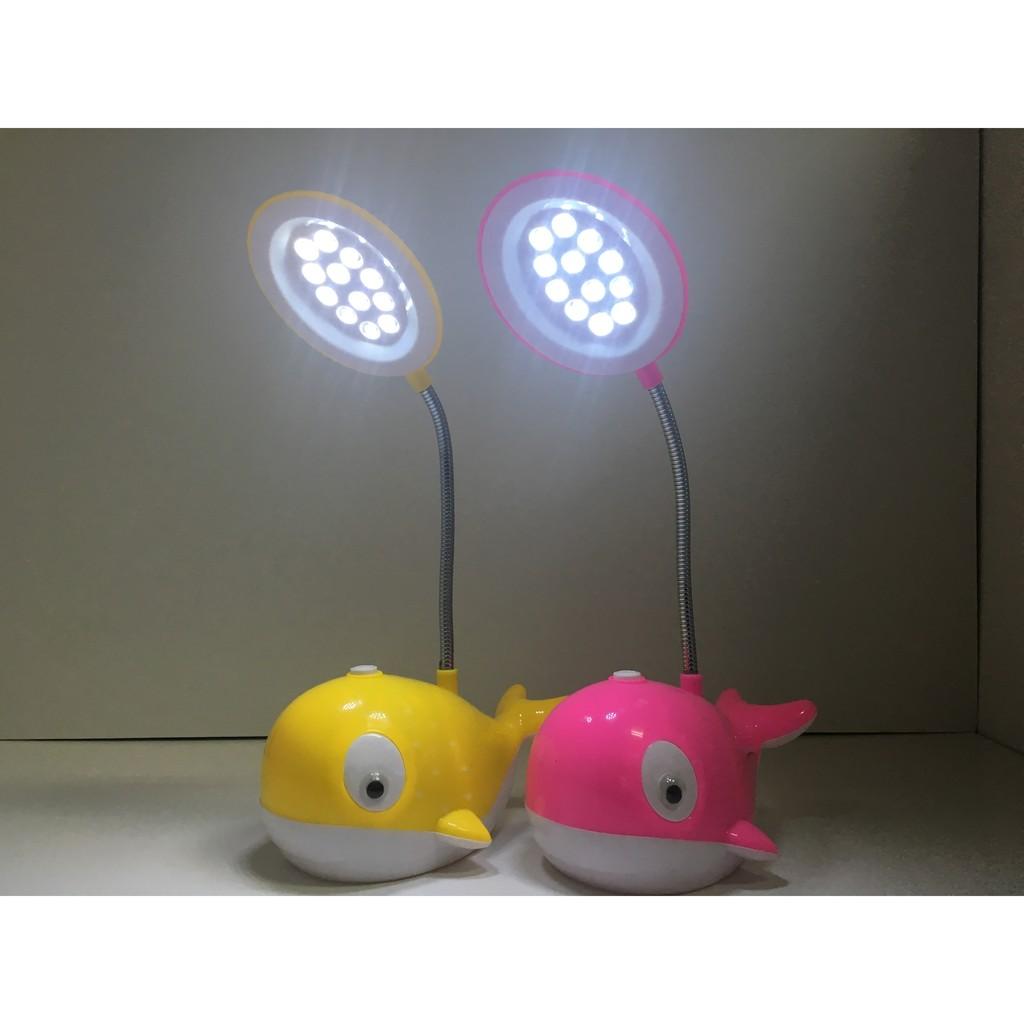 ~Nick 工廠~鯨魚兩用小夜燈小檯燈超夯護眼柔光床頭燈USB 充電式LED 節能燈檯燈餵