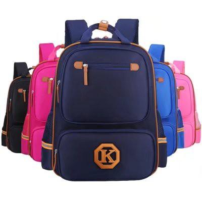 ➷防水無毒➷學生尼龍書包4 6 年級男童書包女童背包 雙肩包學生大容量書包純色後背包