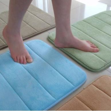 不用等1 5cm 厚50x80cm 珊瑚絨地墊記憶地墊衛浴踏墊腳踏地毯超吸水地墊防滑地墊加