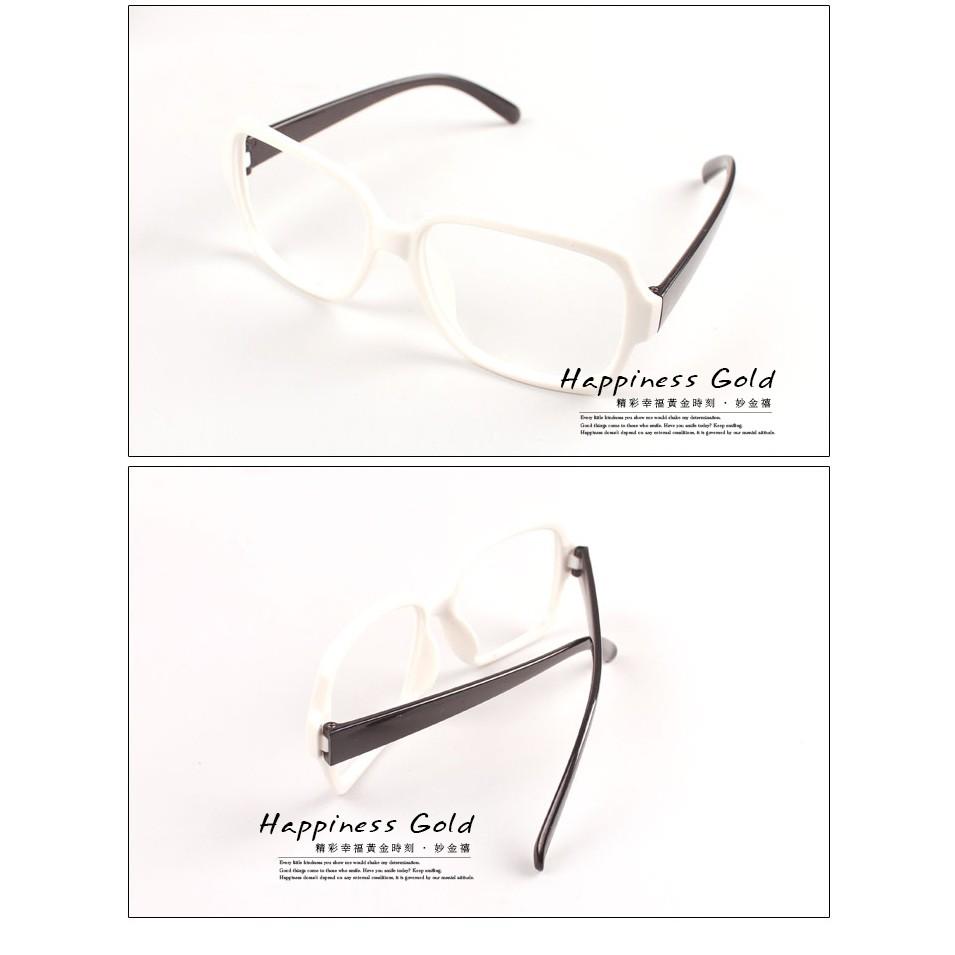 妙金禧復古彩色鏡架無框眼鏡裝飾眼鏡無鏡片眼鏡◕男女 ~貨到 最安心~