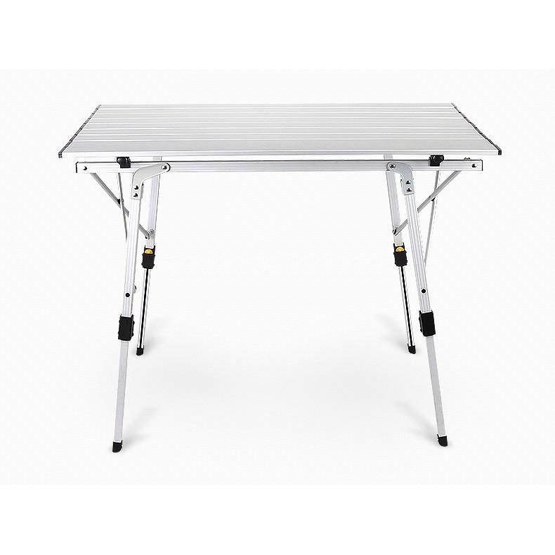 鋁捲桌鋁合金折疊桌行動料理桌蛋捲桌戶外折疊桌休閒桌露營桌摺疊桌野餐桌附收納袋