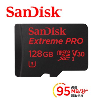 SanDisk 128GB Extreme PRO microSD MICRO SD 12