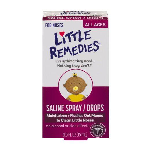 【蘇菲的美國小舖】美國Little Remedies 嬰幼兒滴鼻劑鼻子舒緩劑0 5oz 1