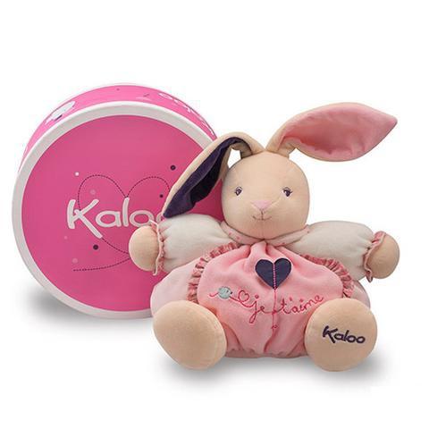 🌟正版🌟【 法國 Kaloo 】PETITE ROSE Rabbit 愛心 兔兔 安撫玩偶(中型)