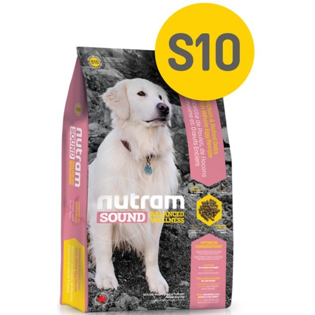 ~MINI PETS 小舖~WDJ 狗糧加拿大Nutram 紐頓均衡健康系列S10 老犬雞