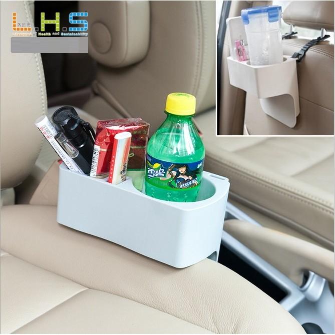 T ~3776 隙縫杯架~可掛式汽車置物收納架多 車用水杯飲料架手機座三合一置物盒隨插隨用