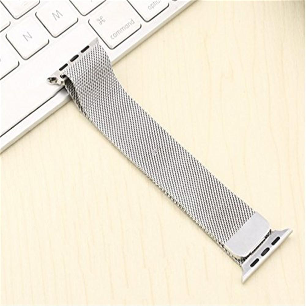 蘋果米蘭尼斯不銹鋼表帶apple watch 38mm 42mm 表帶