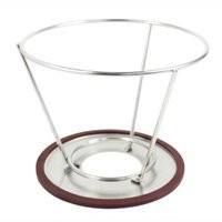 環保不鏽鋼咖啡濾網濾杯不鏽鋼咖啡支撐架腳架承架1 4 濾杯