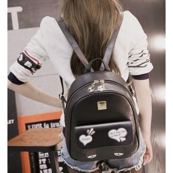 雙肩包女包2016 卡通印花旅行背包包 學院風學生書包百搭潮