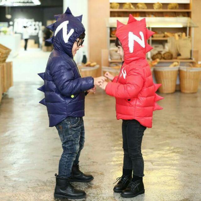 2016 兒童恐龍 超保暖羽絨外套