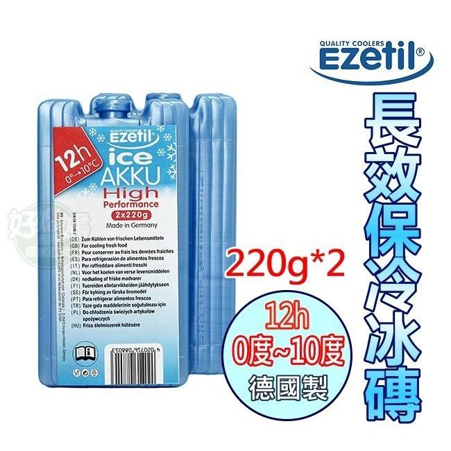 ~好媳婦~德國製Ezetil ~5h 冰磚冷凍 200ml 2 入組~長效保冰戶外保鮮冷媒