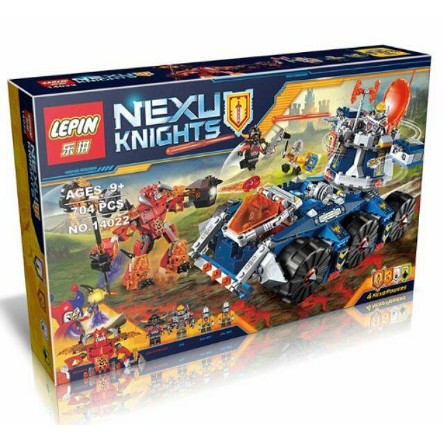 磚塊積木樂拼14022 未來騎士團艾克索塔防戰鬥車相容LEGO 非樂高70322